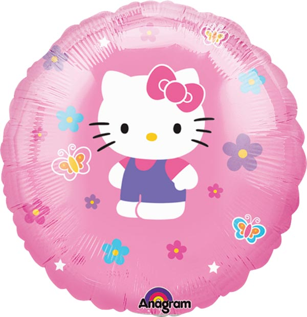 Globo met�lico de Kitty