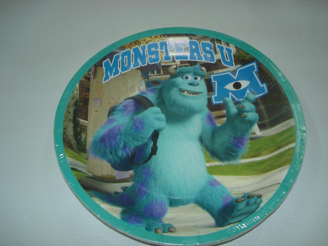 PLATOS DE SULLEY MONSTER UNIVERSITY