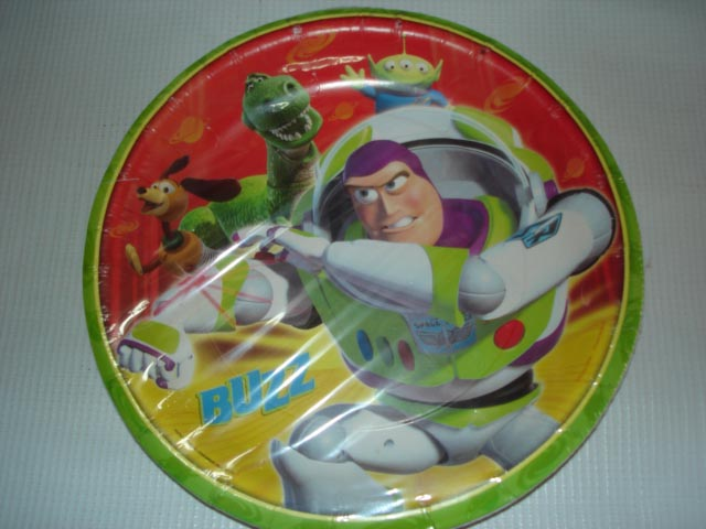 PLATOS DE BUZZ LIGHTYEAR DE TOY STORY