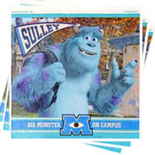 SERVILLETAS DE SULLEY DE MONSTER UNIVERSITY
