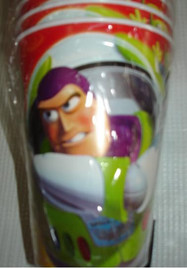 VASOS DE BUZZ LIGHTYEAR DE  TOY STORY